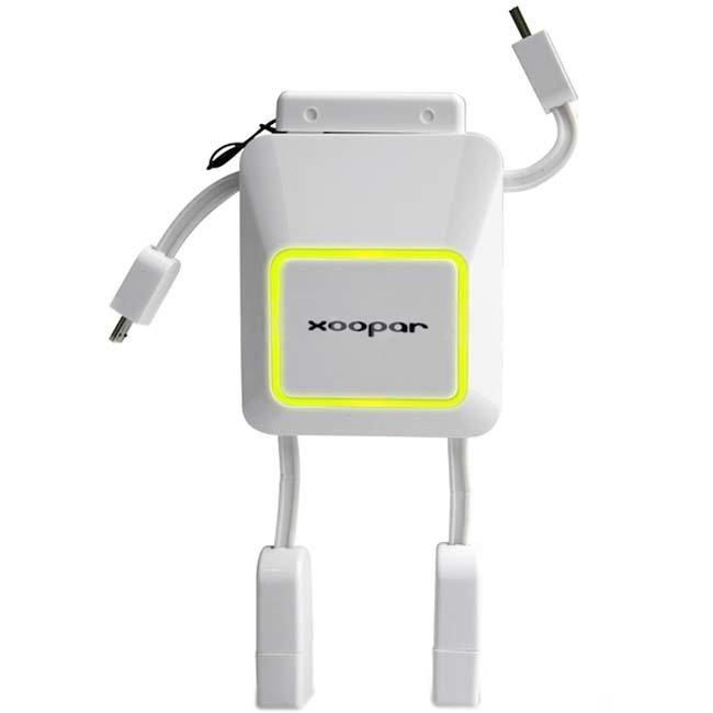 Xoopar Robo Powerbank - 2000mAh - Putih