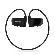 Y0.16G Wireless Head-mounted Walkman with Portable Sports Headphones Design MP3 Player (Black) (INTL)