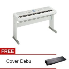 Yamaha Digital Piano DGX-650 Putih + Gratis Dust Cover