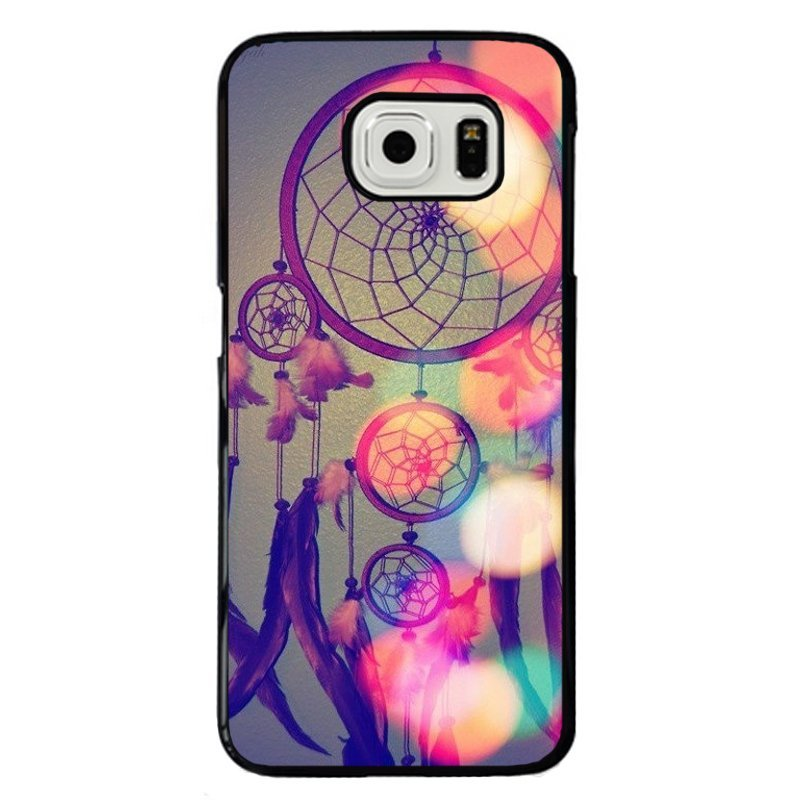 Y&M Beautiful Dream Catcher Pattern Phone Case for Samsung S6 Edge (Multicolor)