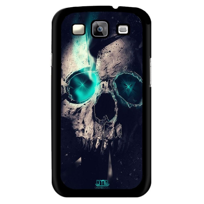 Y&M Blue Eyes Skull Head Samsung Galaxy J1 Phone Shells (Multicolor)
