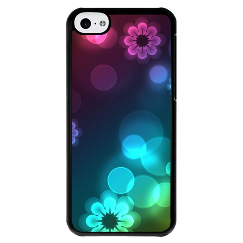 Y&M Cell Phone Case For iPhone 5c Beautiful Printed Cover (Multicolor)