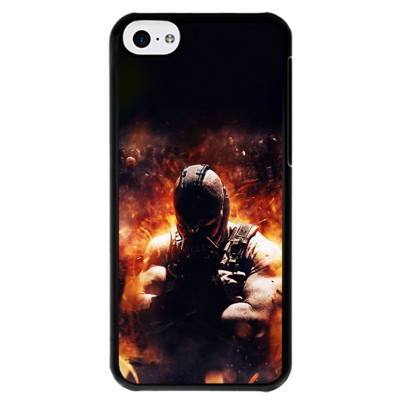 Y&M Cell Phone Case For iPhone 5c Cool Strong Man Pattern Cover (Multicolor)