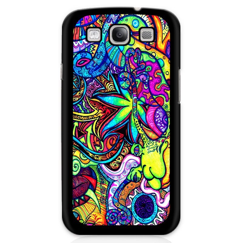 Y&M Colorful Flowers Phone Case for Samsung Galaxy E7 (Multicolor)