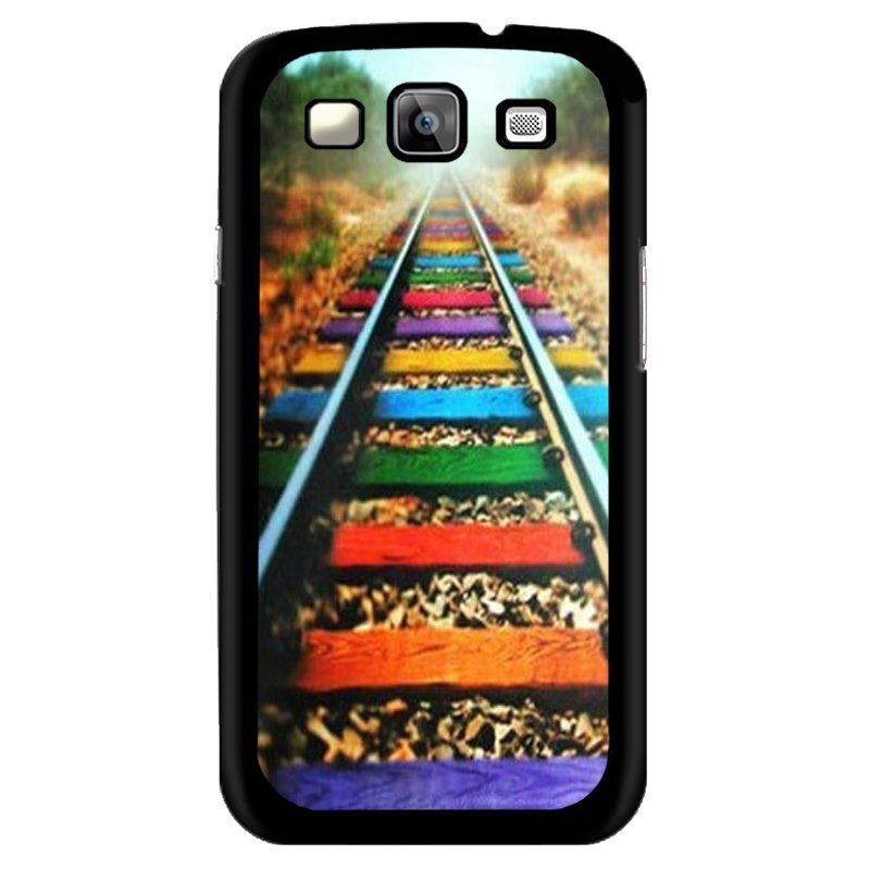 Y&M Colorful Rail Phone Case for Samsung Galaxy Grand 2 (Multicolor)
