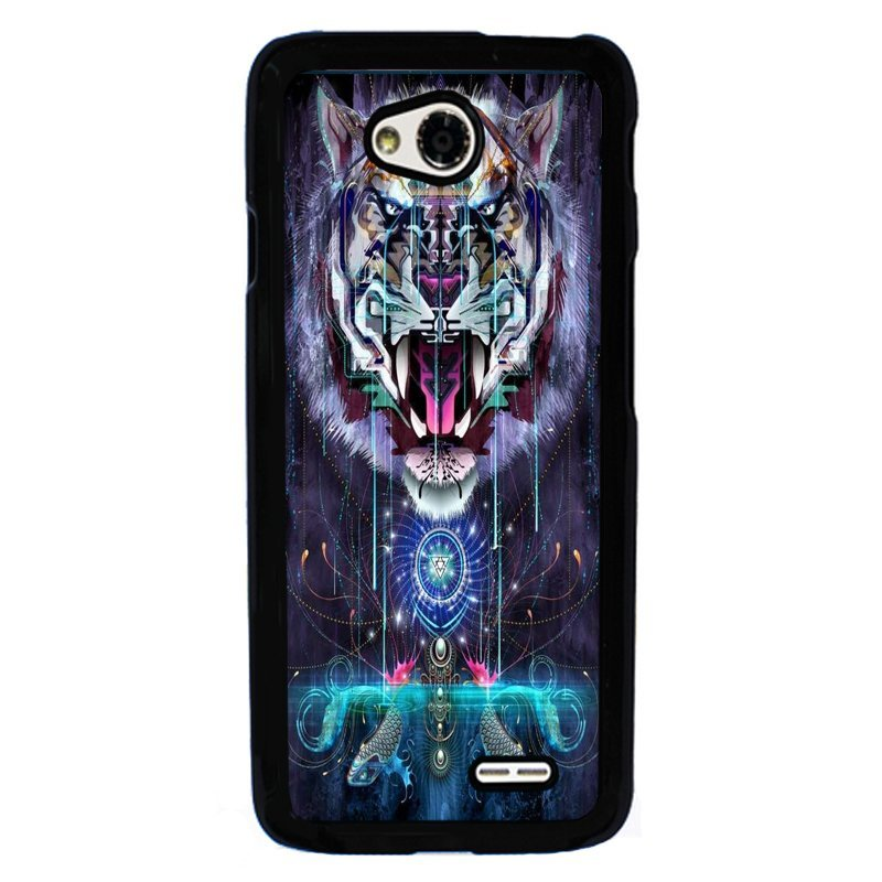 Y&M Cool RoaringTiger Pattern Mobile Phone Cases For LG L70 (Multicolor)