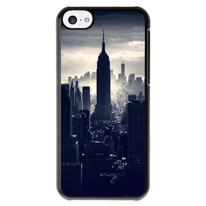 Y&M Dark Night City Phone Case for Iphone 5c Black