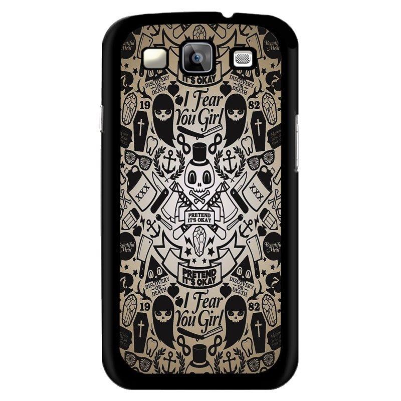 Y&M Ghosts Samsung Galaxy S3 Phone Cover (Multicolor)