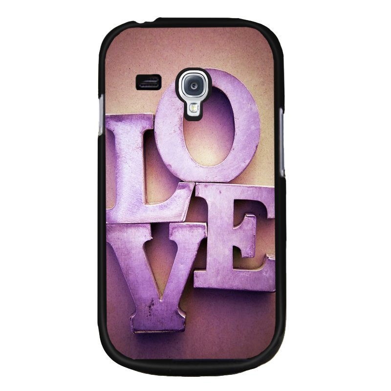 Y&M Love Samsung Galaxy S3 Mini Phone Cover (Multicolor)