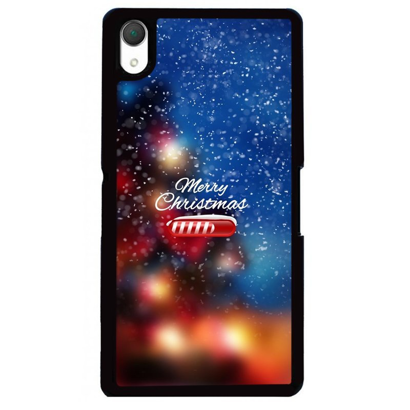 Y&M Merry Chirstmas Snow Sony Xperia Z1 Phone Shells (Multicolor)