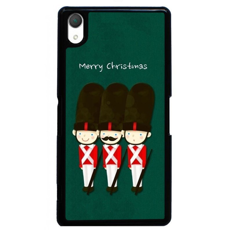 Y&M Merry Christmas Fighter Phone Case for Sony Xperia Z3 Multicolor