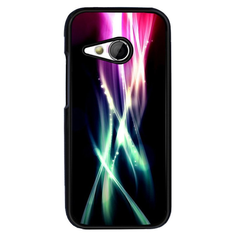 Y&M Personality Abstract Lines Phone HTC M8 Mini Shells (Multicolor)
