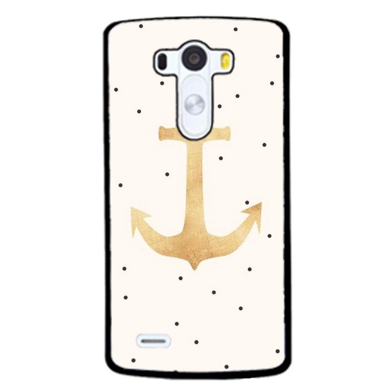Y&M Personality Anchor Phone Case for LG G4 (Black)