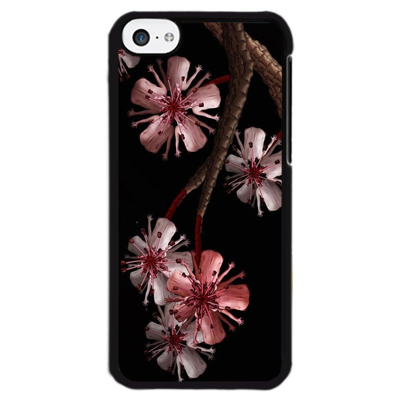 Y&M Phone Case For iPhone 5c Grace Flowers Style Case (Multicolor)