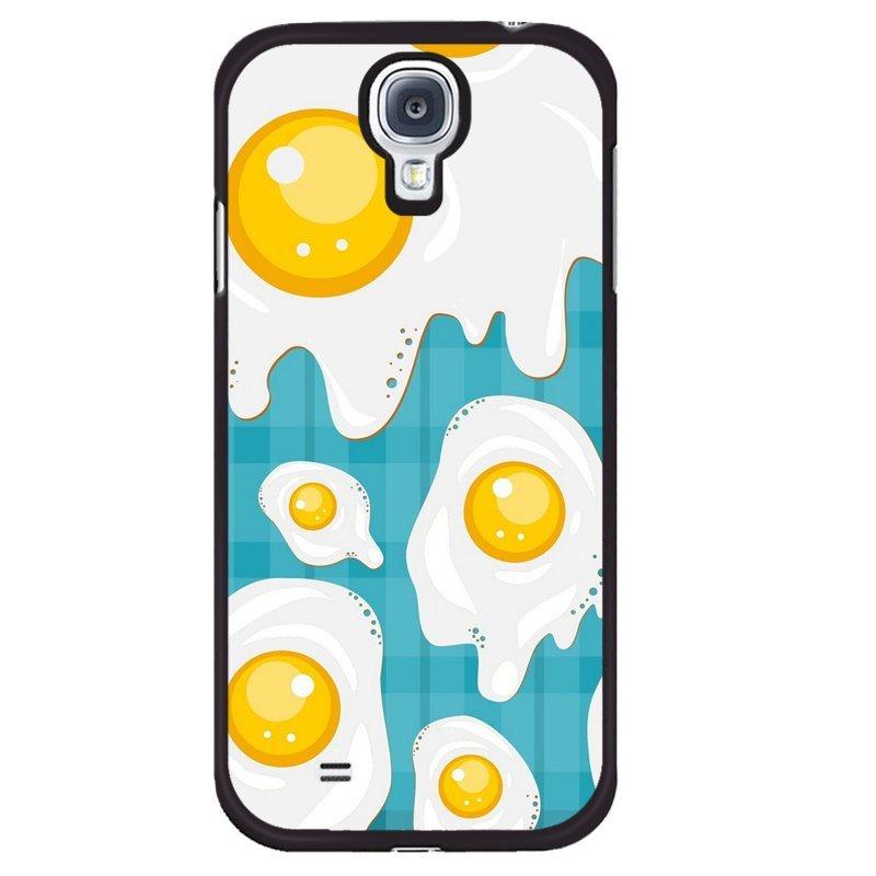 Y&M Phone Case For Samsung Galaxy Mega 6.3 Funny Eggs Printed Cover (Multicolor)