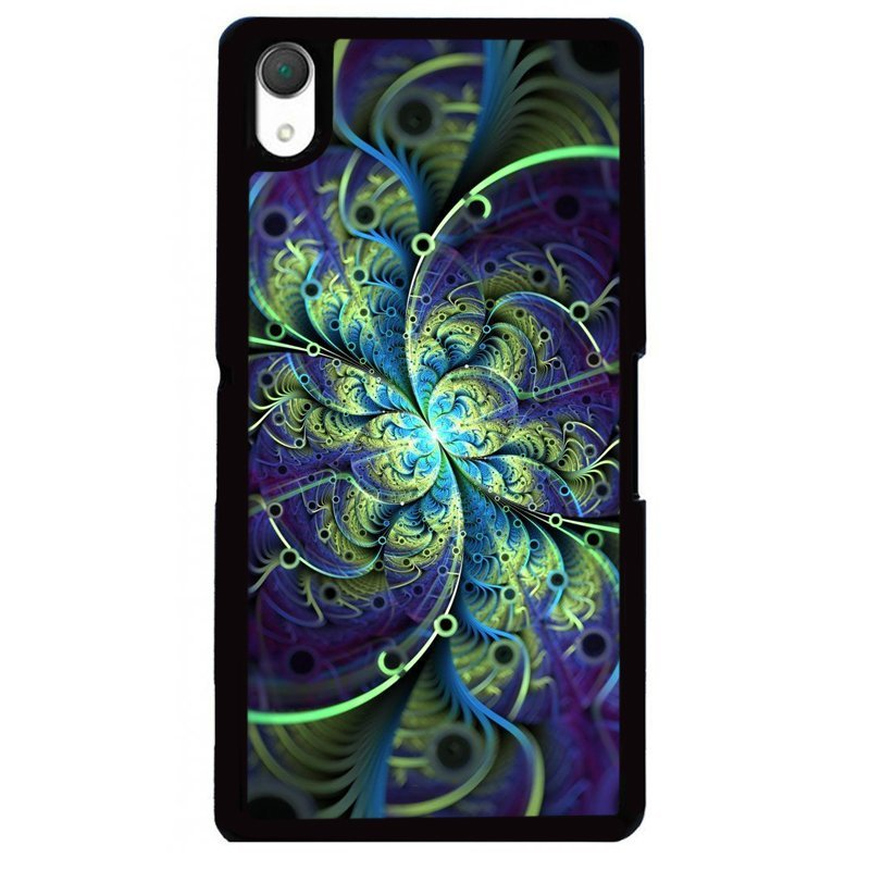 Y&M Unique Floral Sony Xperia Z1 Phone Case (Multicolor)