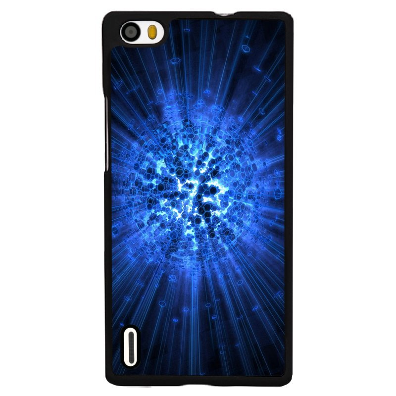 Y&M Vintage Blue Shining Huawei P7 Phone Case (Multicolor)