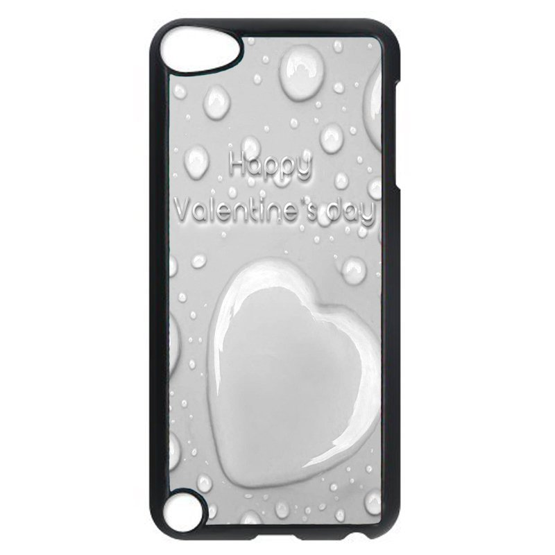 Y&M White Happy Valenkine's Day Phone Shells for iPod Touch 5 (Multicolor)