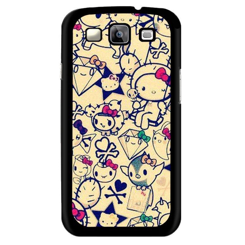 Y&M White Hello Kitty Phone Samsung Galaxy E7 Case (Multicolor)