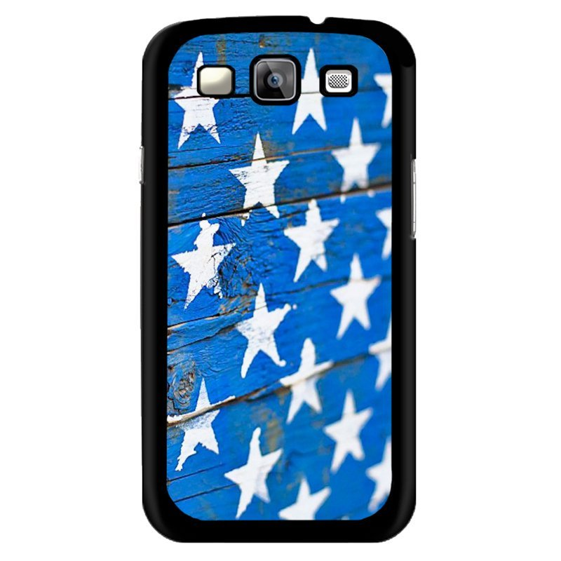 Y&M White Stars Wool Phone Case for Samsung Galaxy E7 (Multicolor)