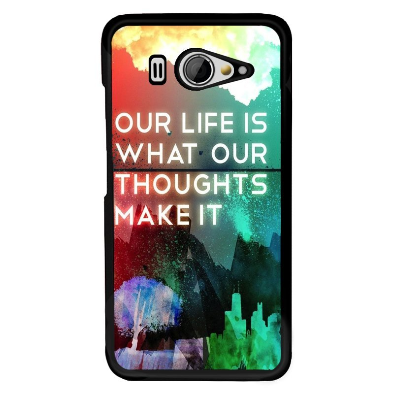 Y&M XiaoMi Mi 2 Our Life Is What We Make It Phone Case (Multicolor)