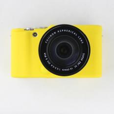 Yellow Nice Soft Silicone Rubber Camera Protective Body Cover Case Skin For FujiFilm Fuji X-M1 X-A1 X-A2 XM1 XA1 XA2 Camera Bag