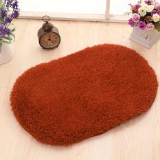 Yika 80*120cm Soft Kitchen Bathroom Door Floor Non-Slip Mat Carpet Rug (Coffee)