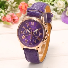 Yika Women Round Multi Dial Quartz Analog Watch (Purple)