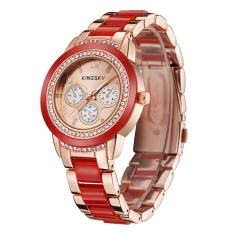 YJJZB Kingsky Brand Watch Factory Direct Sale Of High-end Women Watch High-end Brick Table Fashion Table