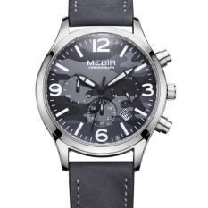 YJJZB MEGIR Men's Watches Students Watch Male Quartz Watch Multifunctional Waterproof Sports Watch 2016 (Black)