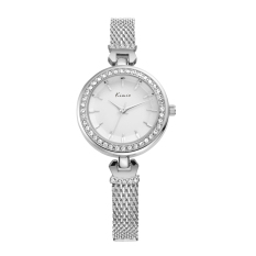 YJJZB Ms. KIMIO Quartz Watch Leisure Fashion Bracelet Watch Fashion Female Form 550s (White)