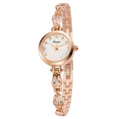 YJJZB New Genuine KIMIO Quartz Watch Korean Fashion Watch Bracelet Table Fine Beauty KW535S (Gold)
