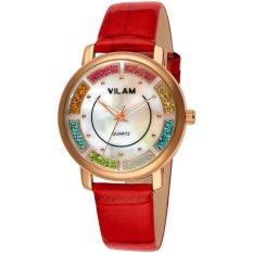YJJZB Wei Lin Genuine Female Watches Korean Fashion Brand Watches Wholesale High-grade Quartz Watch Belt One Generation