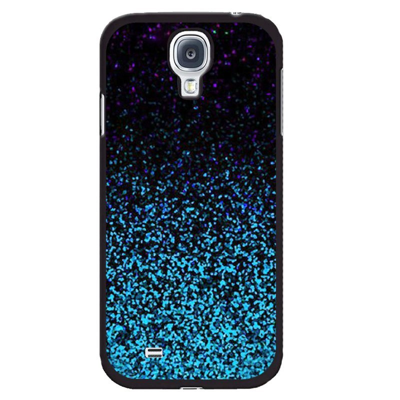 YM Shining Blue Printed Cover for Samsung Galaxy Mega 6.3 (Black)