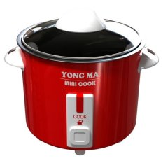 Yong Ma MC-300  Magic Com 2 in 1 Mini Cook - Penanak Nasi - Merah