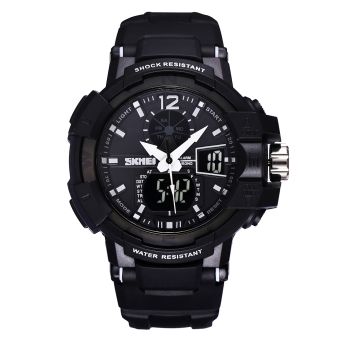 Yooyvso SKMEI New Authentic Men's Wristwatch With A Luminous Waterproof Watch Dual Movement Sports Watch
