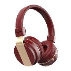 Zealot B17 Bluetooth Headphone (Red Gold) - Intl