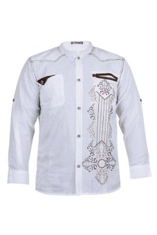 Zeintin Baju Koko 34 Putih Lazada Indonesia