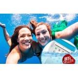 Zoe Samsung Galaxy K Zoom Waterproof Bag - Biru