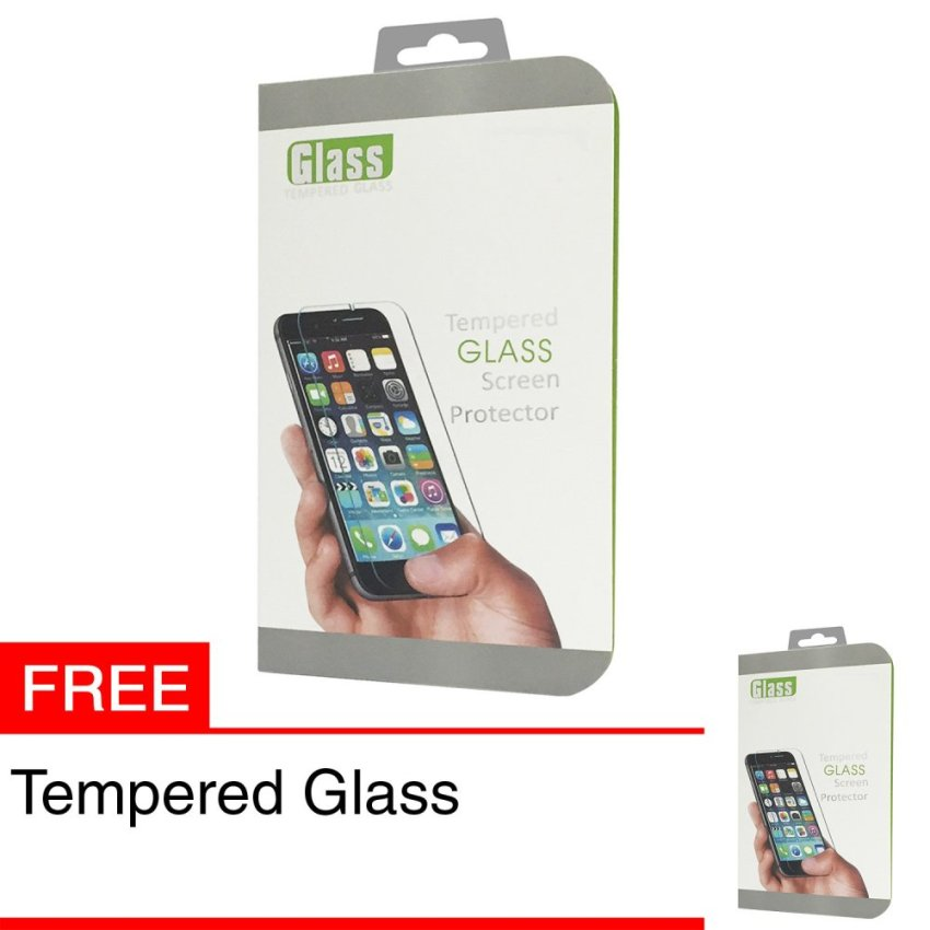 Zona Tempered Glass for iPhone SE / 5S / 5 + Gratis Tempered Glass
