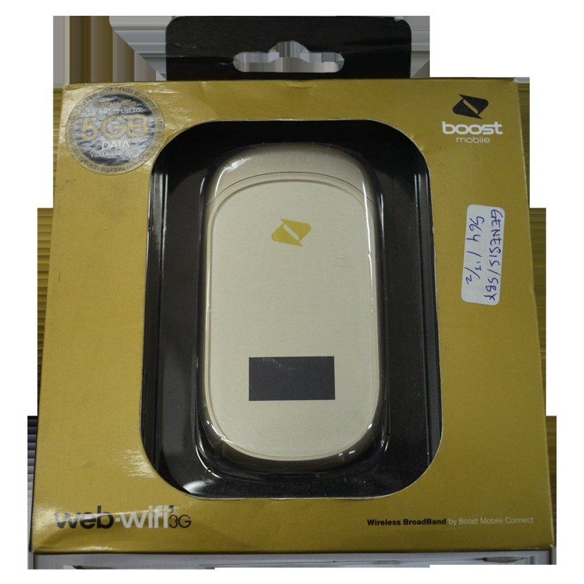 ZTE Boost Mobile MF 62 Gold Wifi Router - Emas