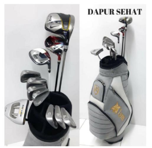 Jual Perlengkapan Golf Terlengkap  152b30c303