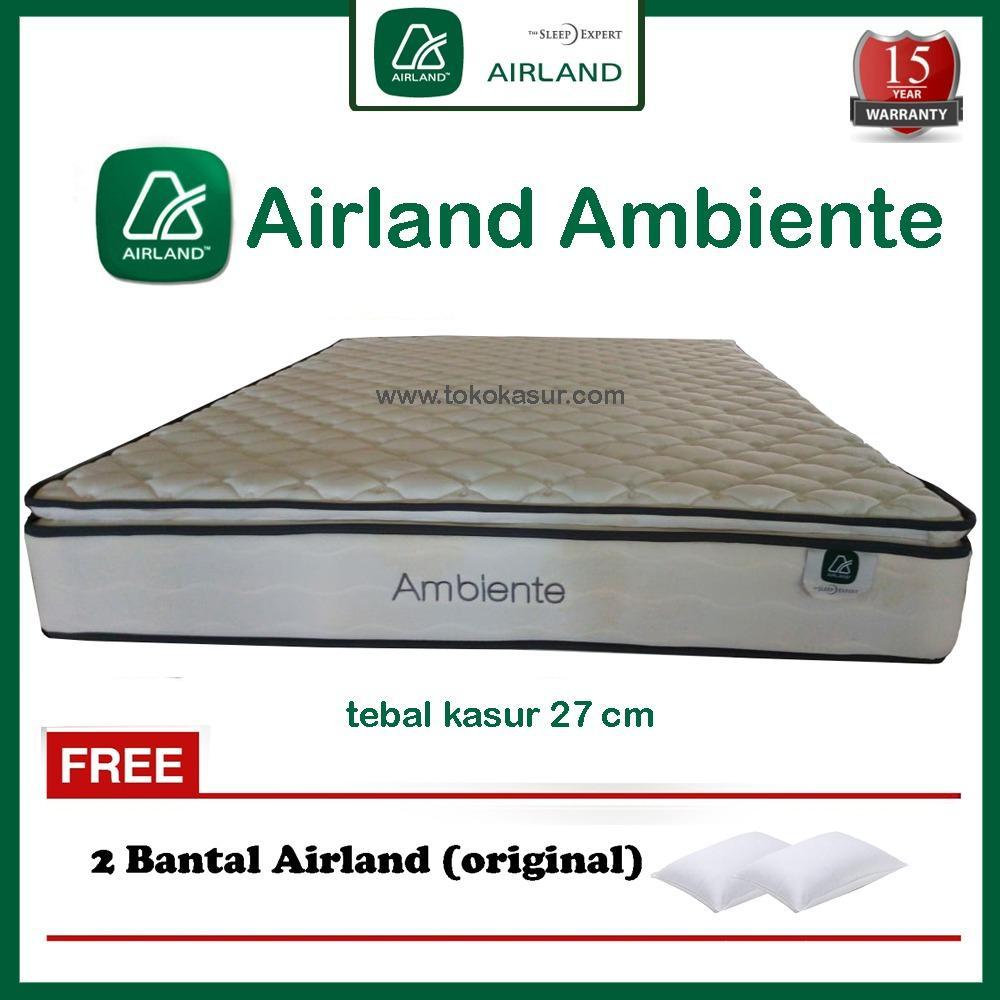 Jual Produk Airland Online Terbaru Di Pocket Divan Dipan Headboard Sandaran Kasur Dan Springbed Ukuran 160x200 Ambiente Tanpa