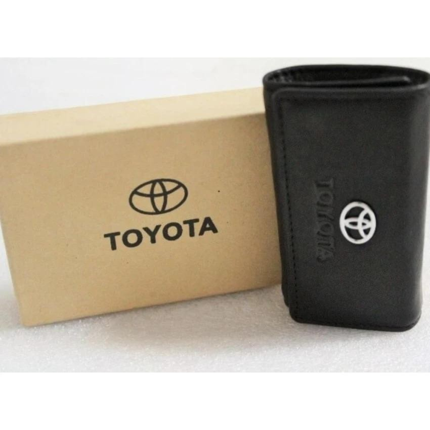 dijual Dompet Stnk - Gantungan Kunci Mobil/motor Toyota (100% Kulit Asli)