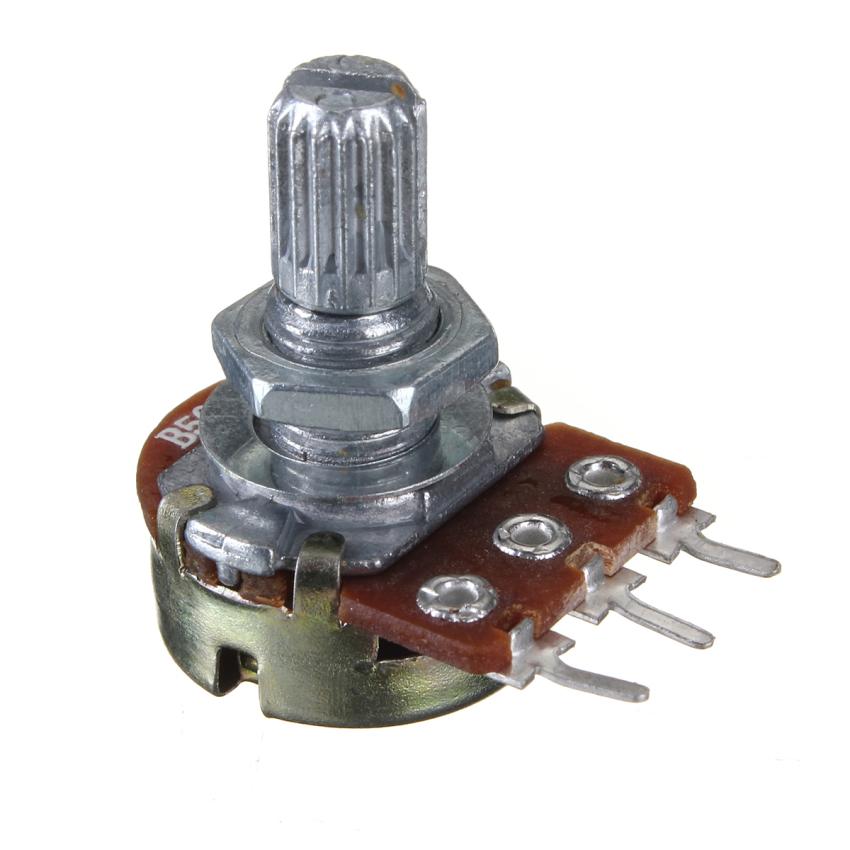 10 buah linier B500K pot volume nada potensiometer switch Gitar listrik Bass -