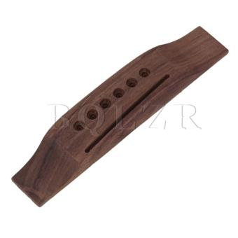 6 String Rosewood Acoustic Guitar Bridge Brown