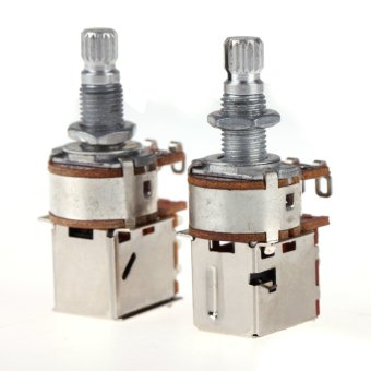 A500K+B500K Push Pull Control Pot Potentiometer for Electric GuitarBass - intl