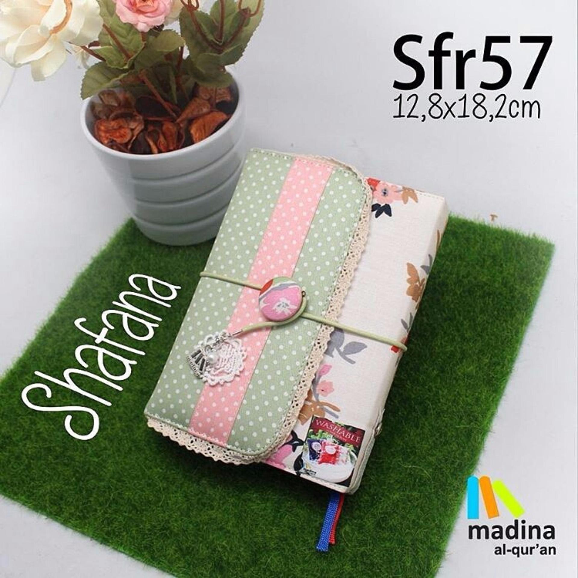 Al Quran Madina Shafana Rainbow Sf 57 Daftar Harga Terbaru Dan Alquran Zhafira Premium Zfr 64