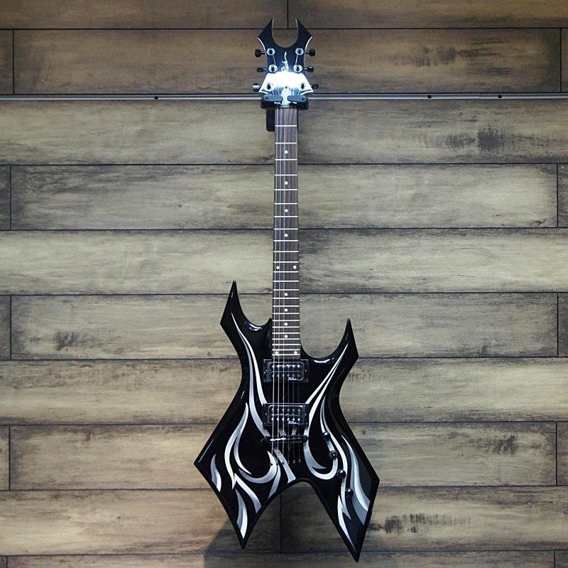 Bc Rich Gitar Elektrik Kerry King Warlock Two Tribal Onyx