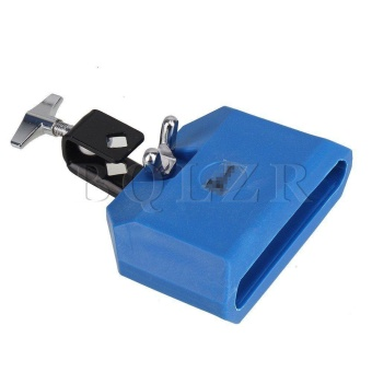 Blue Eco-friendly Plastic Percussion Instruments Block Latin Drum Kit - intl